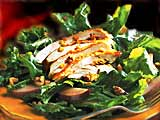 Chicken, Pear, and Arugula Salad
