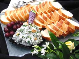 Blue Cheese and Baguette Spread